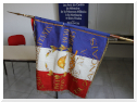 "Consignment of new flags to the ""Amis de La Martinerie"""